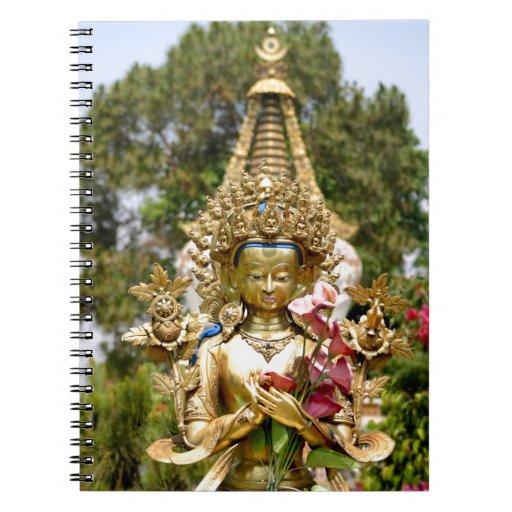 Golden Buddha Notebook