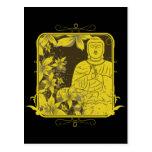 Golden Buddha Post Cards
