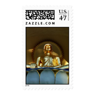 Golden Buddha Postage Stamps
