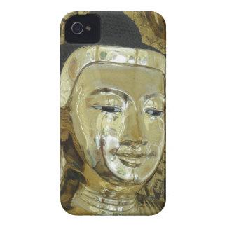 Golden Buddha Statue Inspirational Love iPhone 4 Case-Mate Case