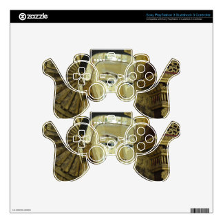 Golden Buddha Statue Inspirational Love PS3 Controller Decal