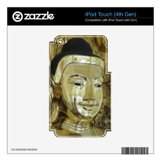 Golden Buddha Statue Inspirational Love Skins For iPod Touch 4G