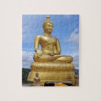 Golden Buddha statue Jigsaw Puzzle