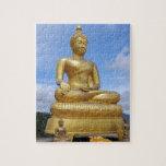 Golden Buddha statue Jigsaw Puzzles