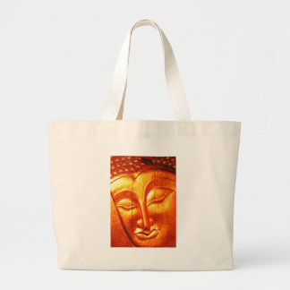 Golden Buddha Tote Bags