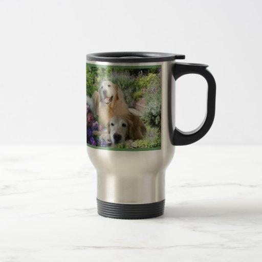 Golden Buddies Travel Mug