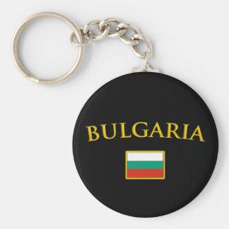 Golden Bulgaria Keychain