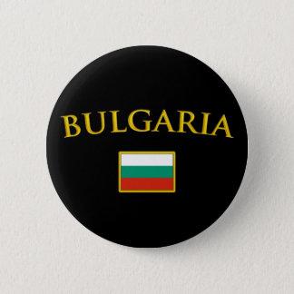 Golden Bulgaria Pinback Button