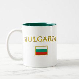 Golden Bulgaria Two-Tone Coffee Mug
