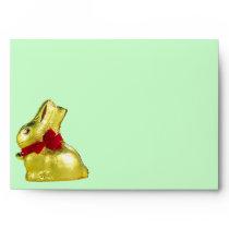 Golden Bunny Envelope
