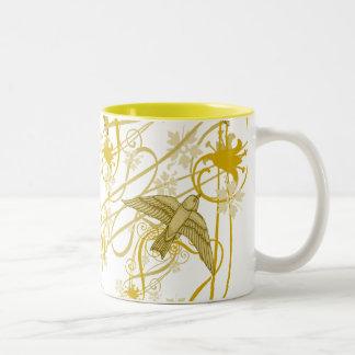 Golden Buntings Mug