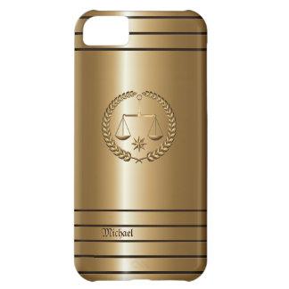 Golden Business & Legal Lawyer iPhone 5 C Case