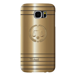 Golden Business & Legal Lawyer Samsung Galaxy S6 Case