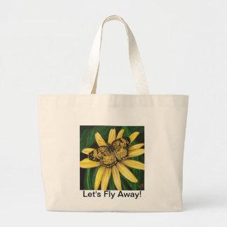 Golden Butterfly Bag