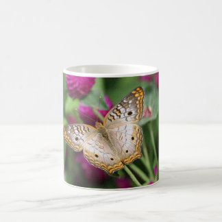 Golden Butterfly Classic White Coffee Mug
