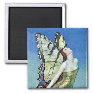 Golden Butterfly Fairy Magnet