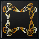 "Golden butterfly napkin<br><div class=""desc"">Golden butterfly</div>"