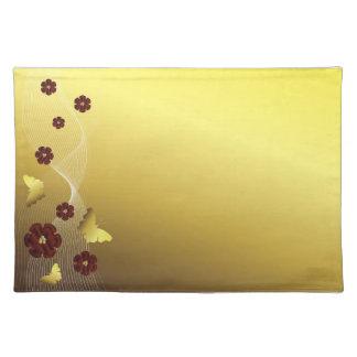 Golden Butterfly Placemat