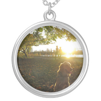 Golden by The Reservoir at Sunset Necklace