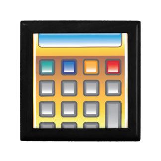 Golden Calculator Vector Gift Box