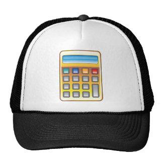 Golden Calculator Vector Trucker Hat