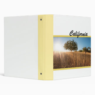 Golden California Meadow Binder