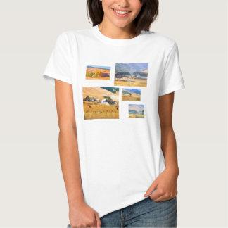Golden California Photo Template Shirt