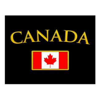 Golden Canada Postcard
