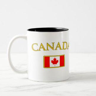 Golden Canada Two-Tone Coffee Mug