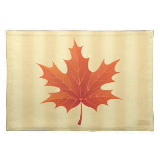 Golden Canadian Cloth Placemat