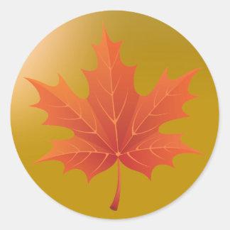 Golden Canadian Classic Round Sticker