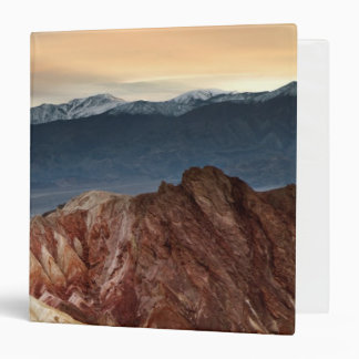 Golden Canyon at Sunset 3 Ring Binder