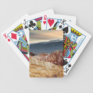 Golden Canyon at Sunset Bicycle Playing Cards