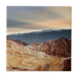 Golden Canyon at Sunset Ceramic Tile