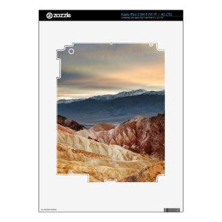 Golden Canyon at Sunset iPad 3 Decals