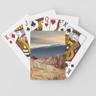 Golden Canyon at Sunset Poker Deck