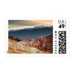 Golden Canyon at Sunset Postage Stamp