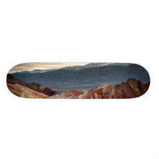 Golden Canyon at Sunset Skateboard