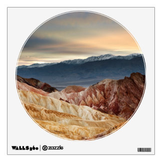 Golden Canyon at Sunset Wall Decal