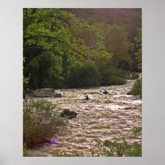 Golden Canyon Kayaks Poster
