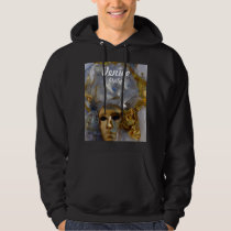 Golden Carnival Mask - Venice, Italy Hoodie