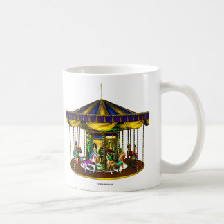 Golden Carousel Ceramic Mug