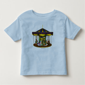 Golden Carousel Toddler Shirt
