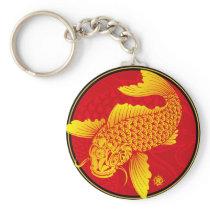 Golden carp_1@miyasan keychain