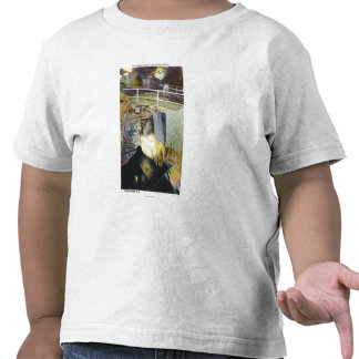 Golden Cascade and Natural Bridge View Tshirts