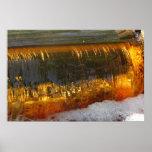 Golden Cascade ~ print
