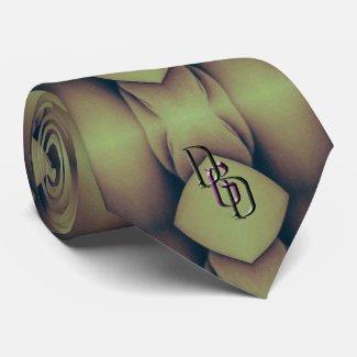 Golden Caverns Neck Tie