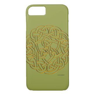 Golden Celtic Knot iPhone 8/7 Case