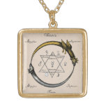 Golden Chain of Homer Necklace