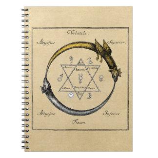 Golden Chain of Homer Spiral Notebook